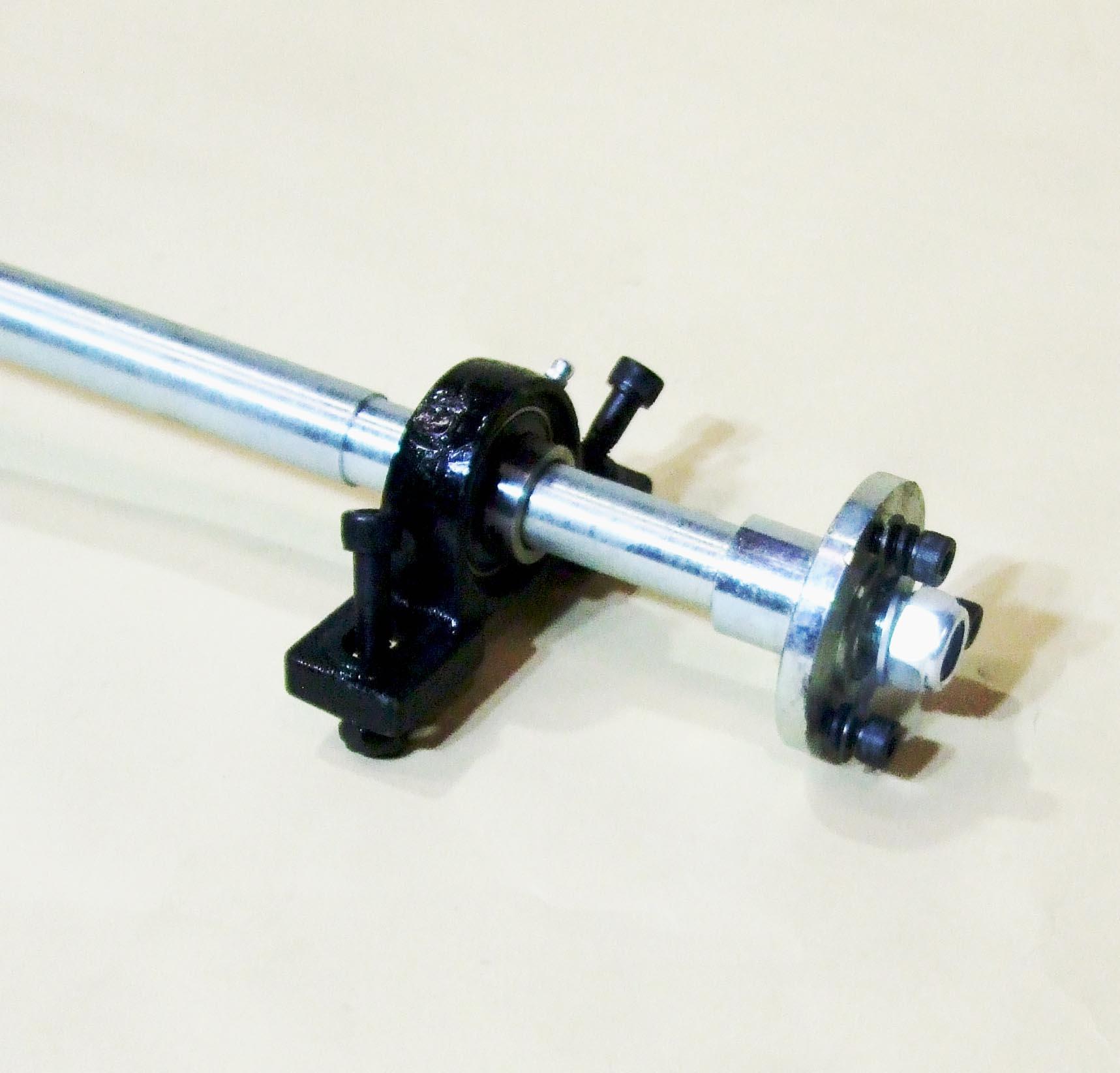 Rear Axle Set 27mm Axle Hubs Rotor Disc Sprocket 420 Pillow Blocks Drift Trike Star Products