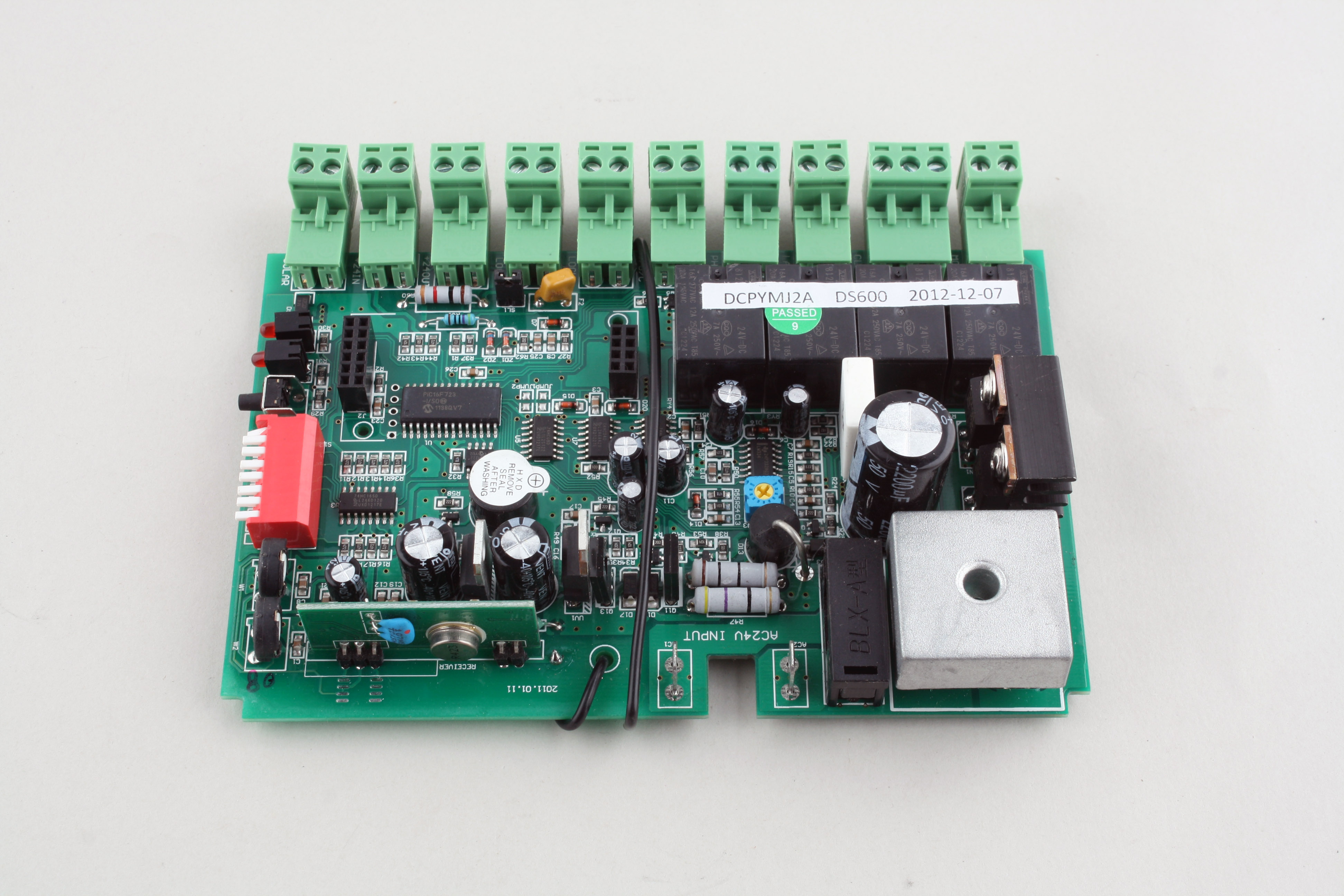 control circuit board pcb to suit lockmaster sliding gate openers rh starproducts com au