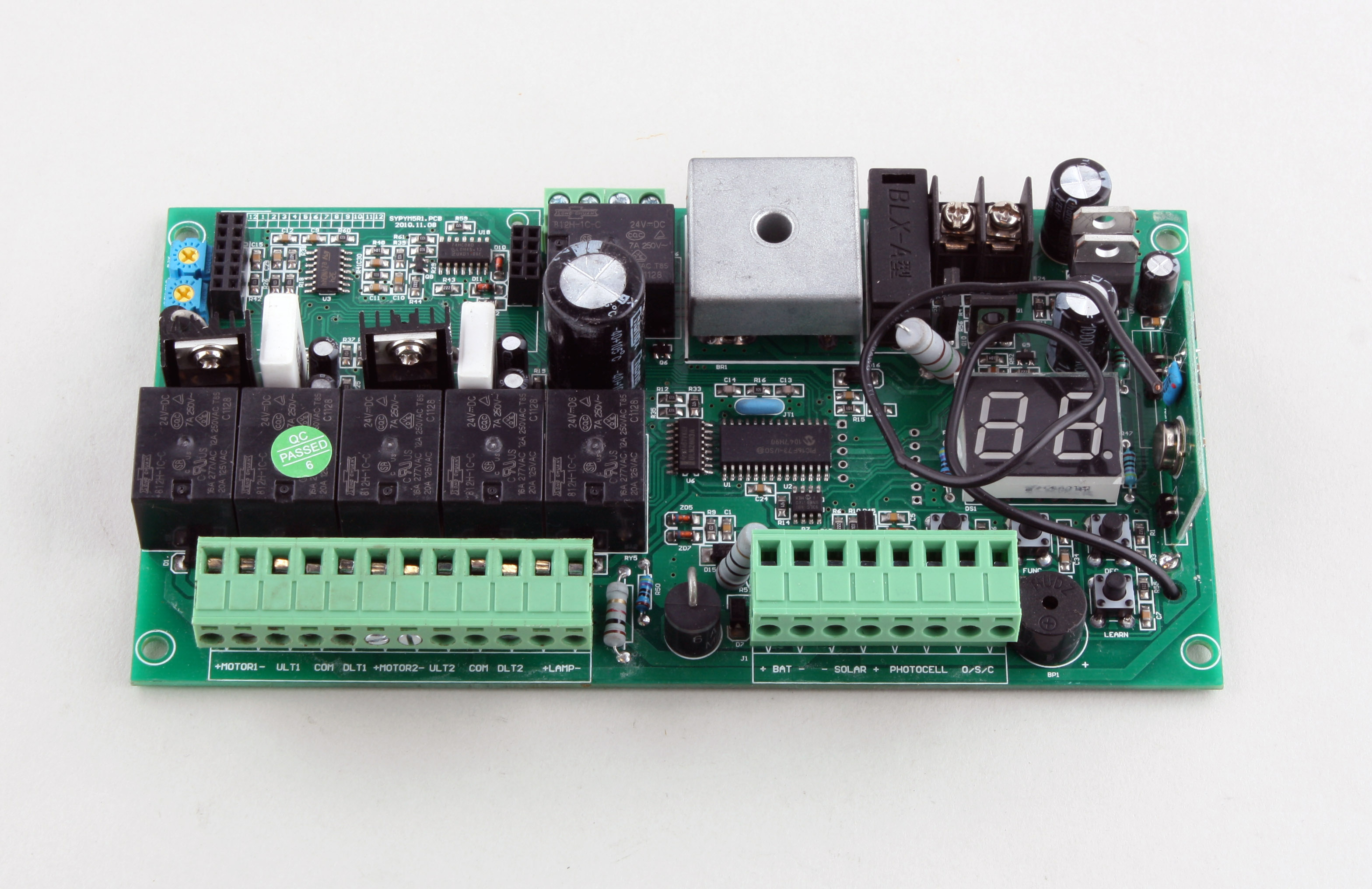 control circuit board pcb for lockmaster swing gate openers star rh starproducts com au