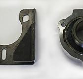 40mm Axle Set #428 – 40mm Axle, Hubs, Disc, Sprocket, Pillow Blocks